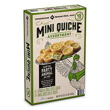 Member's Mark Mini Quiche Assortment (36 oz., 48 ct.)