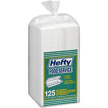 Hefty Food Service Containers (125ct.)