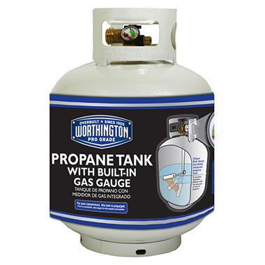Refillable Propane Gas Cylinder With Gauge 20 Lb