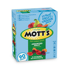 Mott's Medley Assorted Fruit Flavored Snacks (.8 oz., 90 ct.)