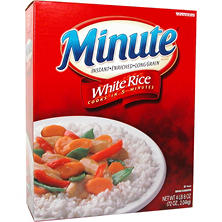 Minute White Rice (72 oz.)