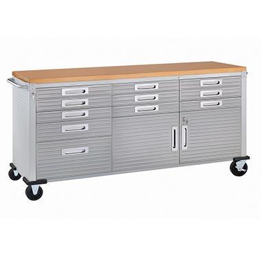 Kitchen Cabinet Workbench