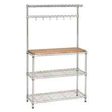 Seville Classics UltraZinc Baker's Rack and Work Station