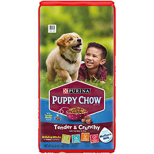 Purina Puppy Chow Tender & Crunchy Dry Dog Food (40 lb.)