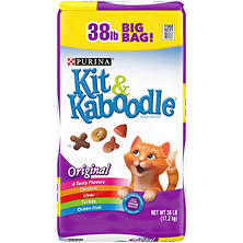 Purina Kit & Kaboodle Original Adult Dry Cat Food (38 lb.)
