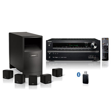 bose 5 1 home theater package sam 39 s club. Black Bedroom Furniture Sets. Home Design Ideas