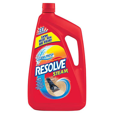 Resolve Steam Large Area Carpet Cleaner 2x Concentrated