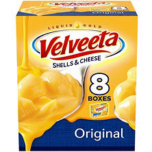 Velveeta Shells and Cheese, Original (12 oz,. 8 pk.)