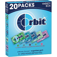 Orbit Sugar-free Gum Variety Box (14 ct., 20 pks.)