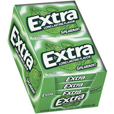 Extra Spearmint Sugar-free Gum (15 ct., 10 pks.)