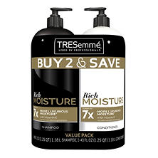 TRESemme Moisture Rich Shampoo & Conditioner Value Pack