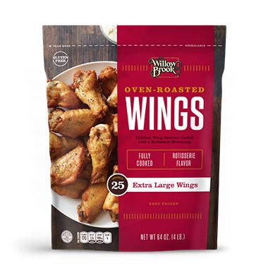 Willow Brook Oven Roasted Wings 64 Oz Sam S Club