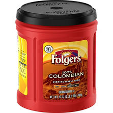 Folgers 100% Colombian Coffee (37 oz.)