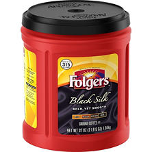 Folgers Black Silk Coffee (37 oz.)