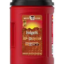 Folgers 100% Colombian Coffee (43.8 oz.)