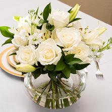 Centerpiece - White (6 pc.)