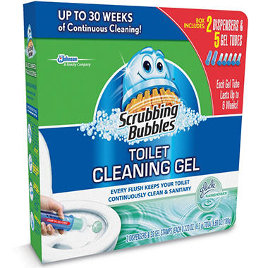 Can You Use Scrubbing Bubbles In The Toilet
