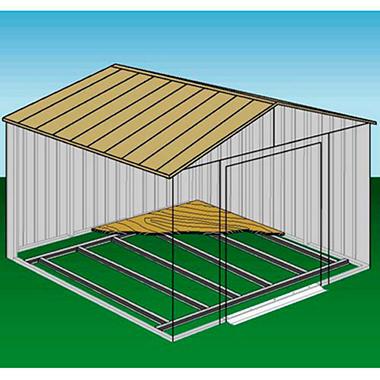 10 215 8 Arrow Shed Foundation Kit Sam S Club