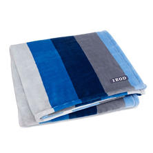 IZOD Plush Throw Collection (Assorted Colors)