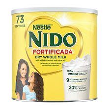 Nestle Nido Fortificada Powdered Milk Drink (4.85 lb.)