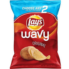 Lay's Wavy Original Potato Chips (15.5 oz.)