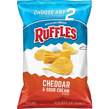Ruffles Cheddar & Sour Cream Potato Chips (16.125 oz.)