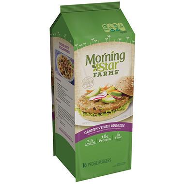 Morningstar Farms Garden Veggie Patties 16 Ct Sam 39 S Club