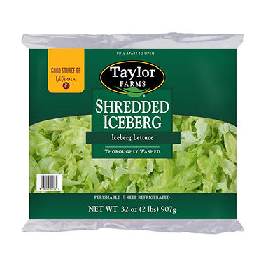 Taylor Farms Shredded Iceberg Lettuce (32 oz.) - Sam's Club