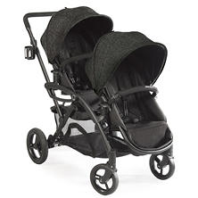 Contours Options Elite Tandem Stroller, Carbon