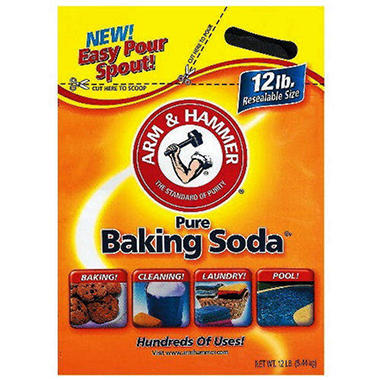 arm hammer baking soda 12 lb bag sam 39 s club. Black Bedroom Furniture Sets. Home Design Ideas