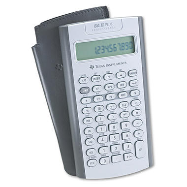 ba ii plus financial calculator manual