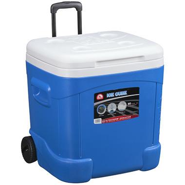 Igloo 174 Ice Cube Rolling Cooler 60 Qt Sam S Club