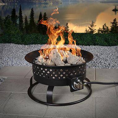 Aurora Steel Gas Firebowl Rubbed Bronze Sam S Club