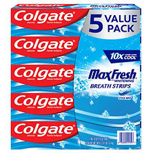Colgate MaxFresh Toothpaste, Cool Mint (7.6 oz., 5 pk.)