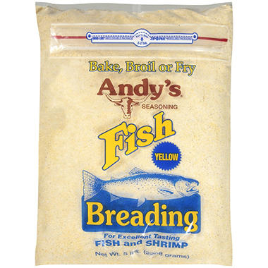 andy 39 s seasoning fish breading yellow 5 lbs sam 39 s club