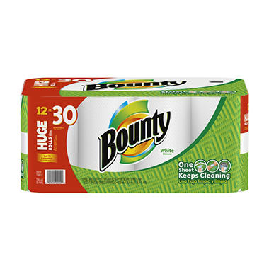 Jul 23, · Bounty Paper Towels 2 Huge Rolls More Info get-raznoska.tk Bounty Select-A-Size Paper Towels, White, 2 Huge Rolls, Pack of 6 (12 Rolls) (Packaging May Vary) by.