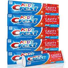 Crest Kid's Toothpaste, Sparkle Fun (4.6 oz., 5 pk.)