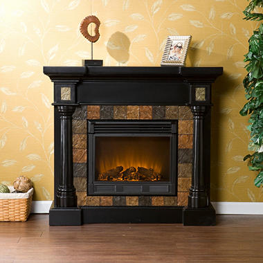 Mirage Ii Electric Fireplace Black Sam 39 S Club