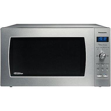 Panasonic 2.2 cu. ft. 1250 Watt Countertop Microwave - Stainless - Sam ...