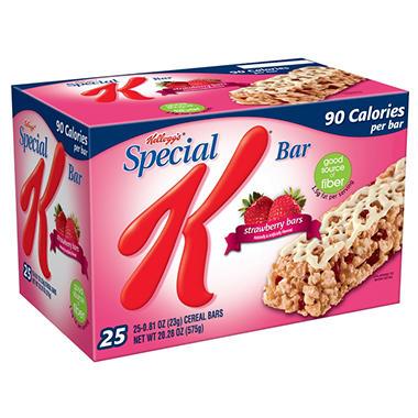 Kellogg S Special K Strawberry Bars Sam S Club