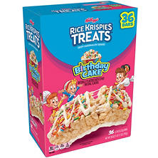 Rice Krispie Treats Birthday Cake (36 ct.)