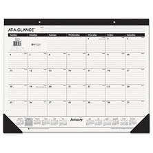 "AT-A-GLANCE Ruled Desk Pad, 22"" x 17"", 2018"
