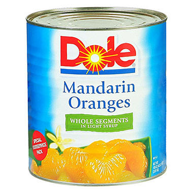 dole mandarin oranges 106 oz can sams club
