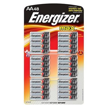 energizer max 48 aa batteries sam 39 s club. Black Bedroom Furniture Sets. Home Design Ideas