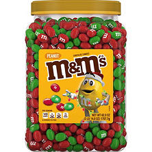 M&M'S Peanut Chocolate Holiday Candy (62 oz.)