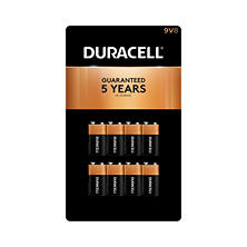 Duracell Coppertop Alkaline 9V Batteries (8 Pk.)