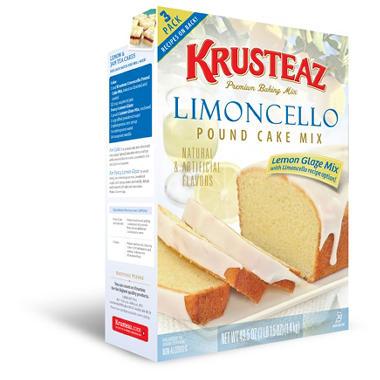 Krusteaz Lemon Pound Cake Cookies