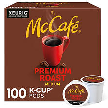 McCafe Premium Roast Coffee (100 K-Cups)