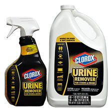 Clorox Urine Remover for Stains & Odors (32 oz. spray bottle and 128 oz. refill)