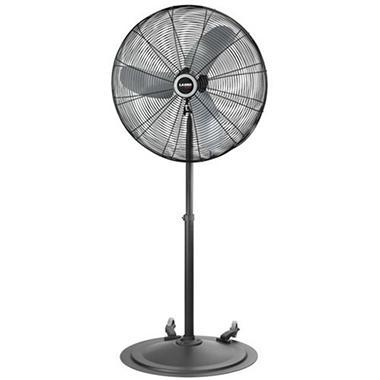 Lasko 30 Quot Industrial Grade Oscillating Fan With Wheels
